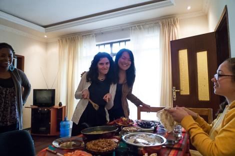 Me and the big chef Yasmine!